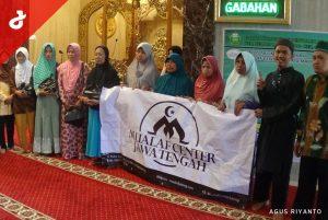 MCS dan MT Al Harokah Semarang Gelar Kajian dan Baksos untuk Mualaf