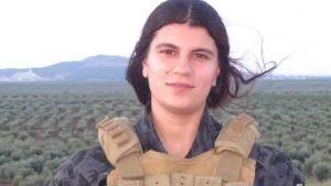Inilah Tentara Wanita SDF yang Meledakan Tank Turki Bersama Dirinya