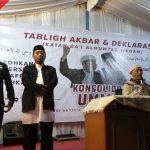 Tangkal Pendangkalan Aqidah dan Kerusakan Moral, Ulama dan Aktivis Islam Tasikmalaya Deklarasikan Ikatan Dai Almumtaz