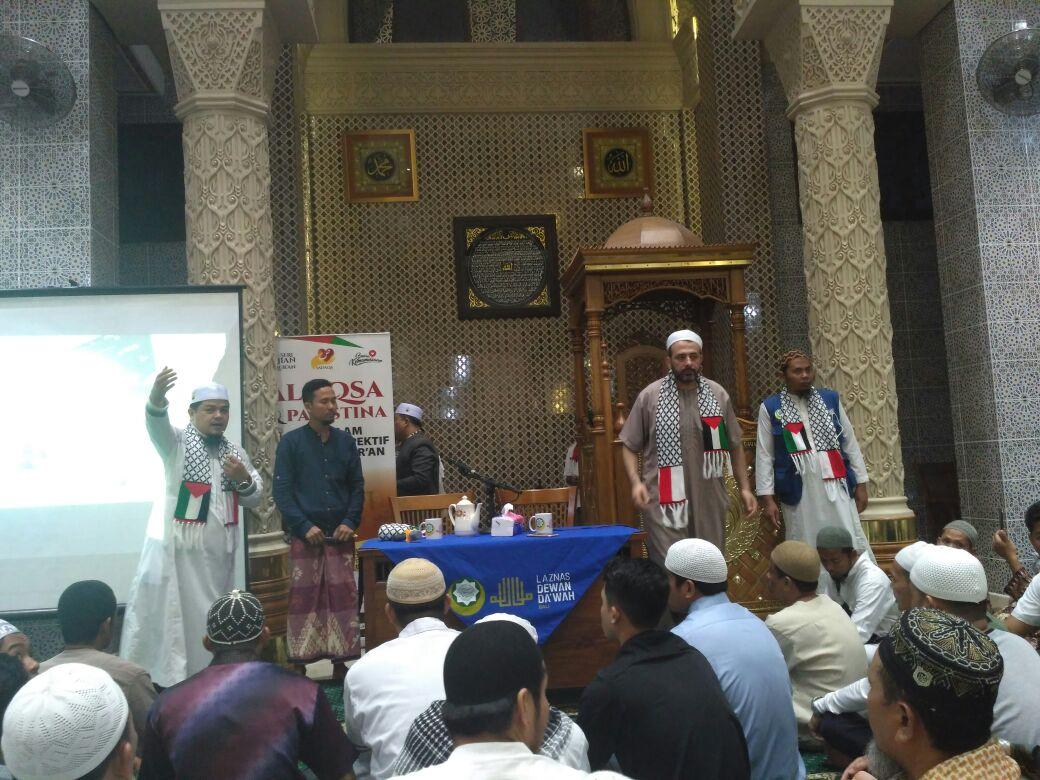 """Safari Dakwah Syeikh Palestina di Bali : """"Mari Kita Berkomitmen dengan Al Qur'an"""""""