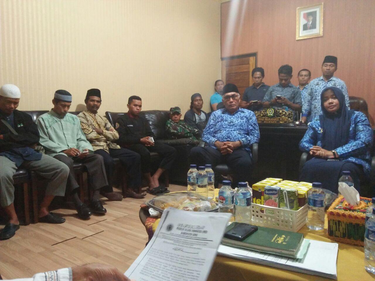 FUI Desak Bupati Bima Hentikan Pembangunan Pura Ilegal di Kecamatan Tambora