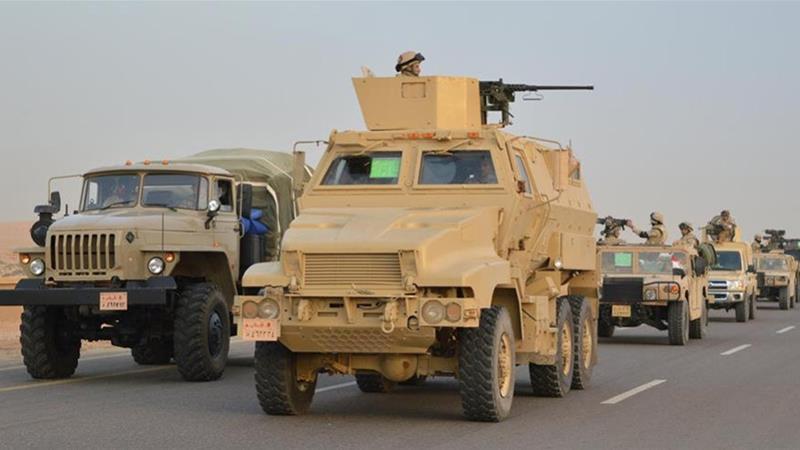 Mesir Gelar Operasi Militer Gabungan Darat, Laut dan Udara di Semanjung Sinai