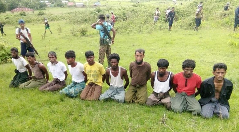 Pemerintah Myanmar Hanya Hukum 10 Aparat atas Pembantaian Muslim Rohingya