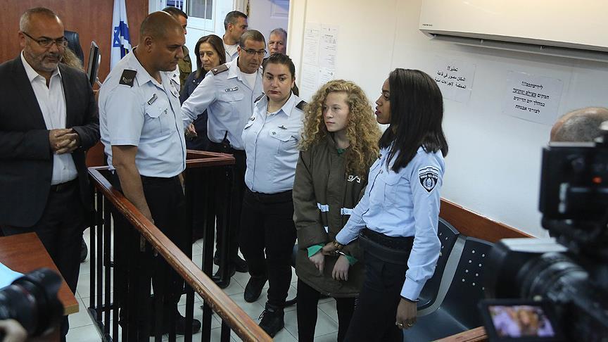 Diadili dalam Pengadilan Militer Zionis, Pejabat PBB Desak Israel Bebaskan Ahed Tamimi
