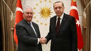 Berharap Turki Melunak dalam Operasi MIliter di Suriah, Sekneg AS Temui Erdogan di Ankara