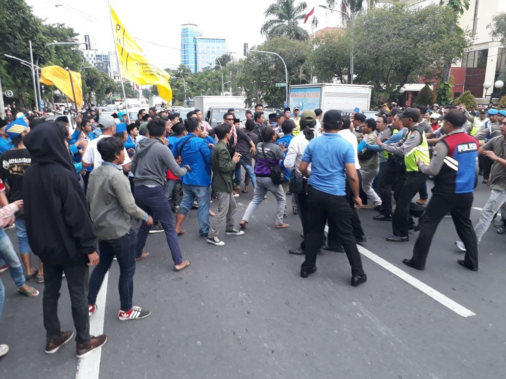 PMII Surabaya : UU MD3 Anti Kritik dan Otoriter