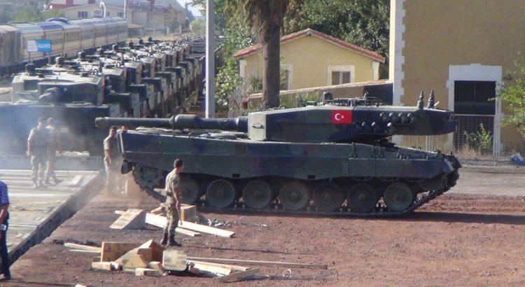 Erdogan: Kami akan Produksi Tank Tanpa Awak
