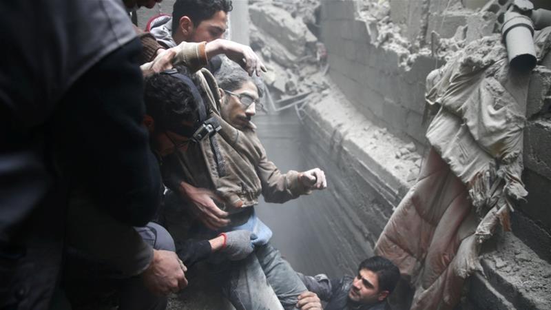 400 Tewas dalam 5 Hari oleh Rezim Assad, Warga Ghouta: Bertahan atau Mati Bersama
