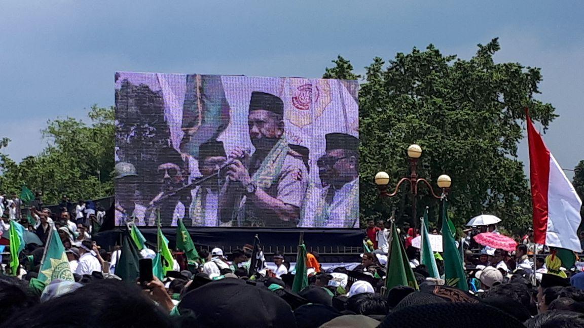 Hadiri Aksi 242, Tito Intruksikan Polri Harus Bergandengan dengan Persis