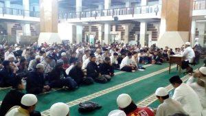 Almumtaz Gelar Mabit Akbar dan Deklarasi GISS di Masjid Agung Kota Tasikmalaya