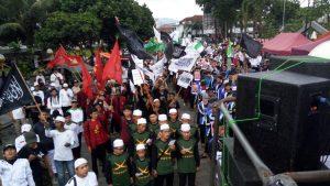 Kecam Assad, Ribuan Warga Tasikmalaya Gelar Aksi Solidaritas untuk Ghouta