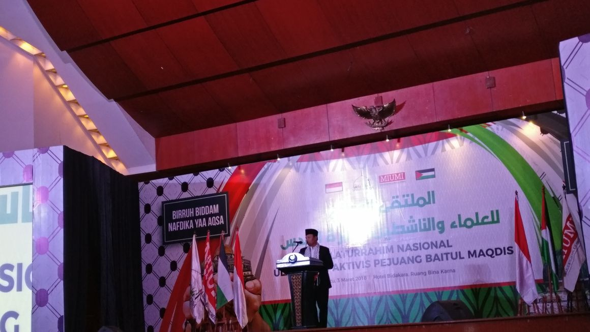 Silaturahim Nasional Ulama dan Pejuang Baitul Maqdis Digelar di Jakarta
