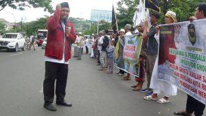 Di Semarang, Aksi Solidaritas untuk Ghouta Digelar di Depan Kantor Gubernur Jateng