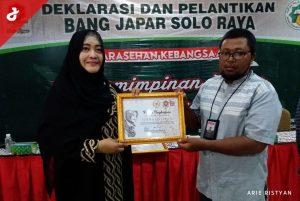 Bang Japar Soloraya Anugerahi Penghargaan kepada Tokoh, Aktivis dan Media Islam
