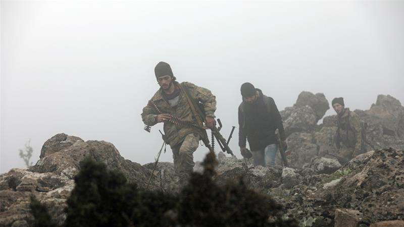 Pasukan Kurdi Cegah Warganya Lari dari Pertempuran di Kota Afrin