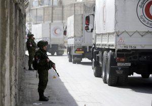 Terhenti oleh Serangan Brutal Rezim Assad, Tim Bantuan Kemanusian Lanjutkan Pengiriman Besok