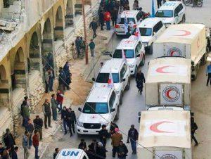 WHO: Konvoi Bantuan Obat-obatan dan Peralatan Medis ke Ghouta Disita Rezim Assad