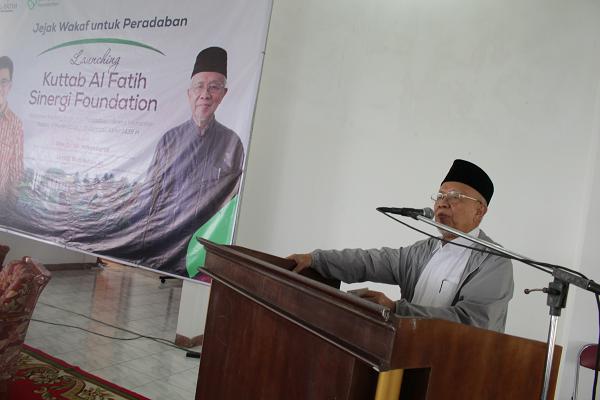 Prof Miftah Faridl Ajak Masyarakat Ikut Gerakan Wakaf Dana Abadi