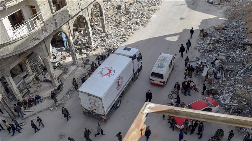 Situasi Kemanusian Semakin Mengerikan di Ghouta, White Helmets Minta Bantuan PBB