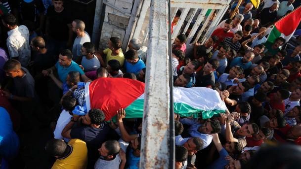 Ditembak Tepat di Dada, Serdadu Zionis Bunuh Pendemo Cacat Mental