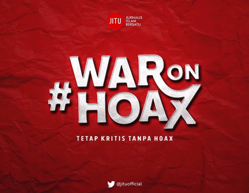 War On Hoax: Kritis Tanpa Hoax