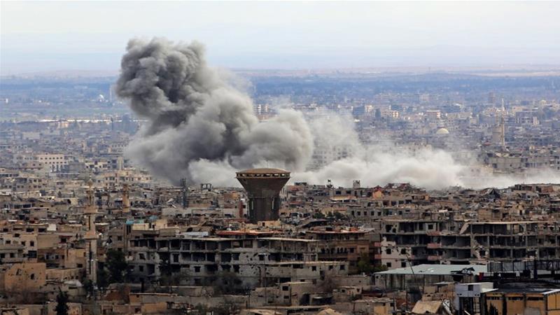 Pasukan Rezim Assad Rebut Kota Terbesar di Ghouta Timur