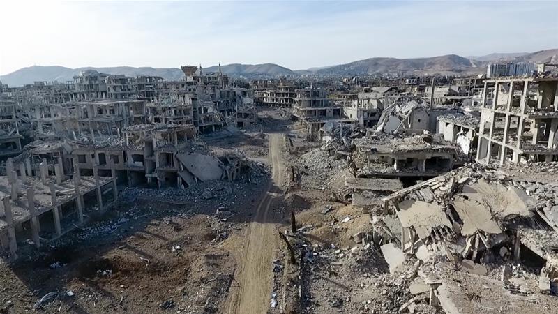 Dibantu Serangan Udara Brutal, Pasukan Rezim Assad Kepung Douma, 42 Tewas