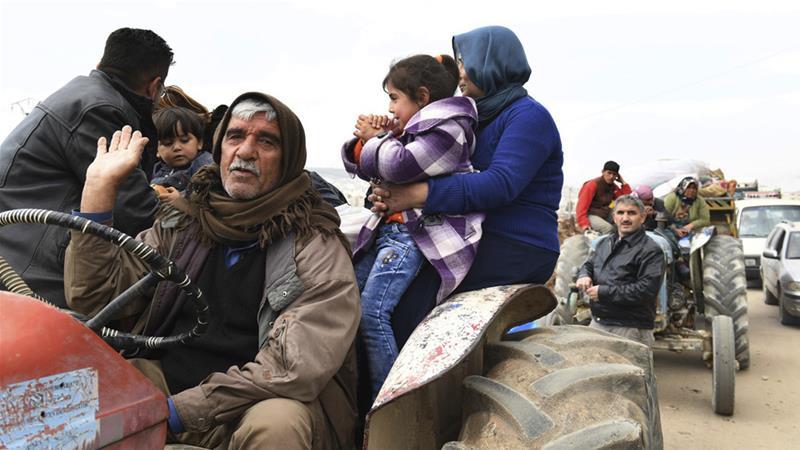 Warga Kurdi Siap jadi Tameng Hidup saat Turki Memasuki Kota Afrin