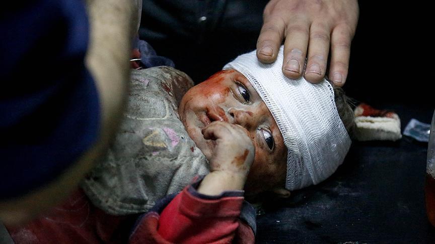 Biadab, Jet Tempur Rezim Assad dan Rusia Targetkan Pasar Ghouta, 61 Warga Tewas