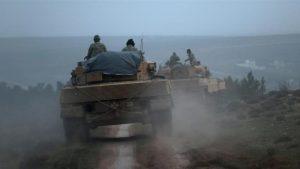 Armada Perang Turki Rebut Kota Afrin dari Pasukan Dukungan AS, PYD