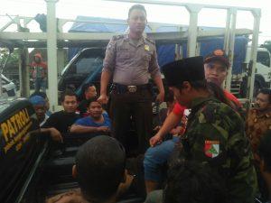 Pasca Penyerangan, Banser Berjaga di Rumah Rais Syuriah NU Kendal