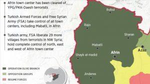 Selama Operasi Militer, 29 Desa Juga Dibebaskan Turki dari Milisi Dukungan AS