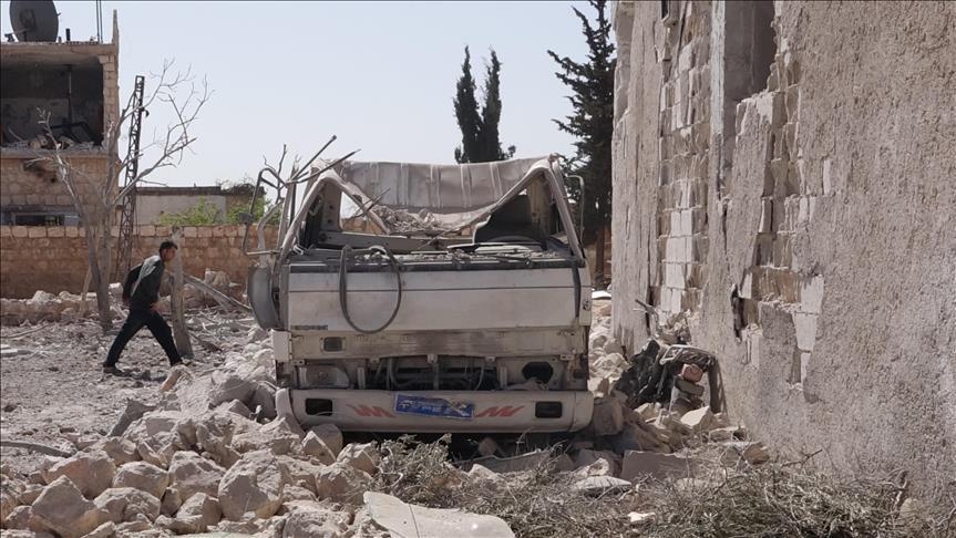 Setelah Ghouta, Kini Giliran Warga Idlib Jadi Target Jet Tempur Rusia, 20 Tewas