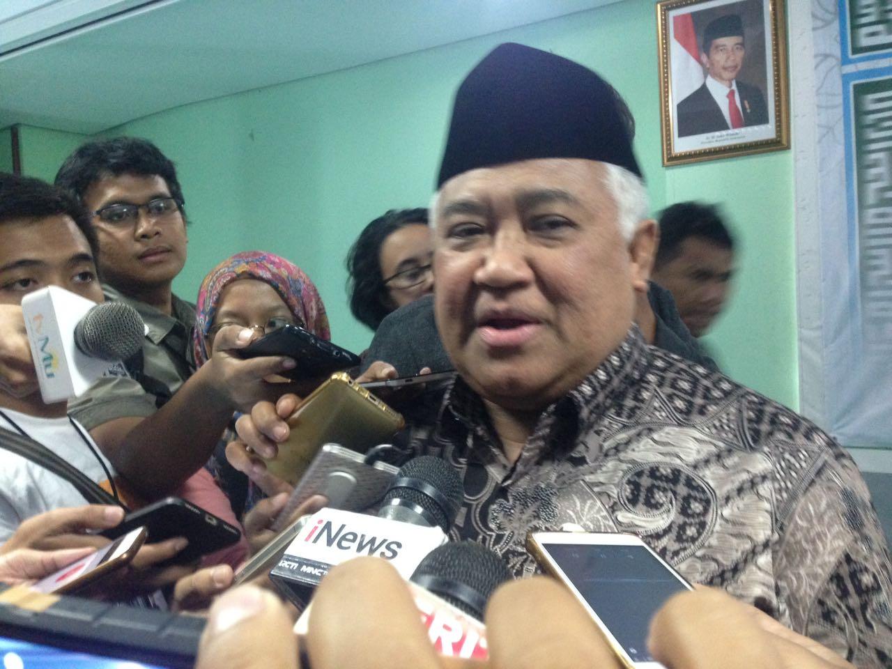 Soal Konflik di Papua, Din : Sebenarnya Bisa Dimusyawarahkan