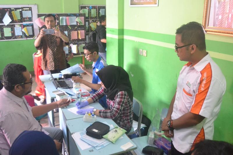 SD Luqman al Hakim Surabaya & BMH Gelar Sedekah Darah Untuk Kemanusiaan