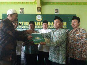 H Sudarno Hadi Terpilih Sebagai Ketua Dewan Dakwah Jatim Periode 2018 – 2023