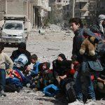 PBB: 130.000 Orang Telah Tinggalkan Ghouta Timur