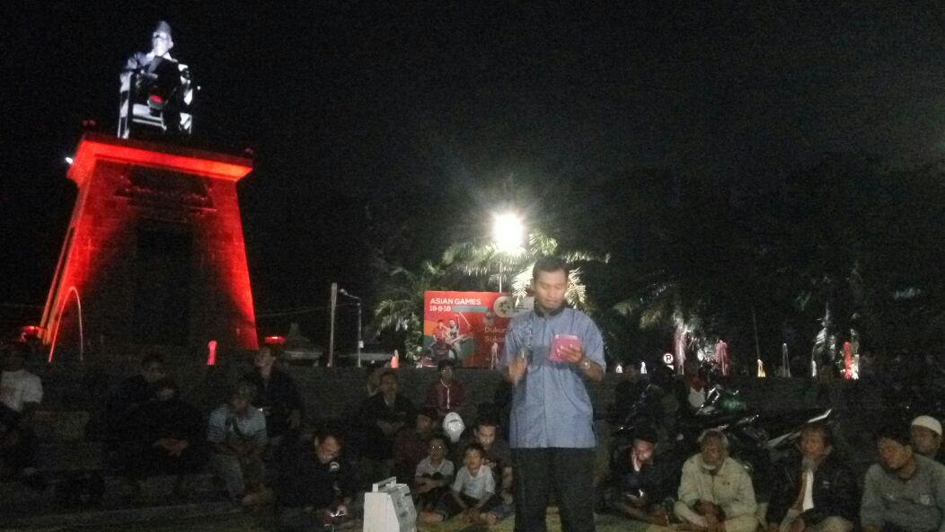Protes Sukmawati, Budayawan Muslim Solo Gelar Aksi Baca Puisi di Patung Soekarno