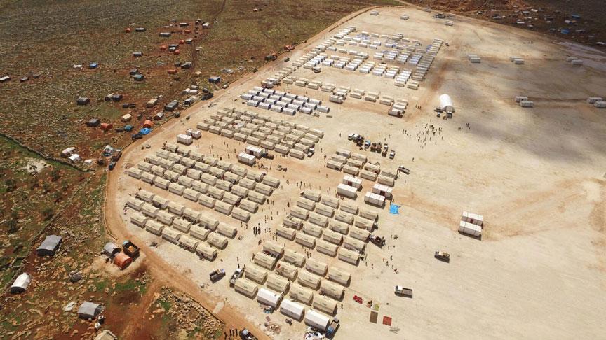 Turki Dirikan Tempat Penampungan Pengungsi Ghouta Timur di Idlib