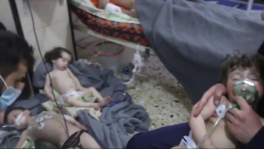 AS Peroleh Sampel Darah Serangan Senjata Kimia di Douma, Ini Hasilnya