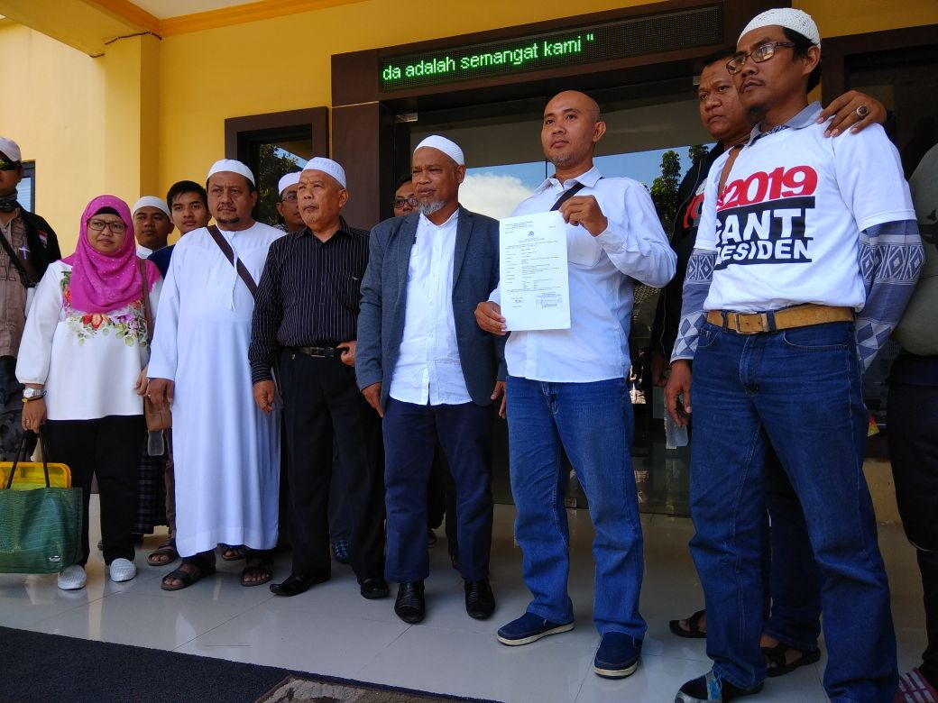 Ormas Islam Jatim Kembali Laporkan Sukmawati