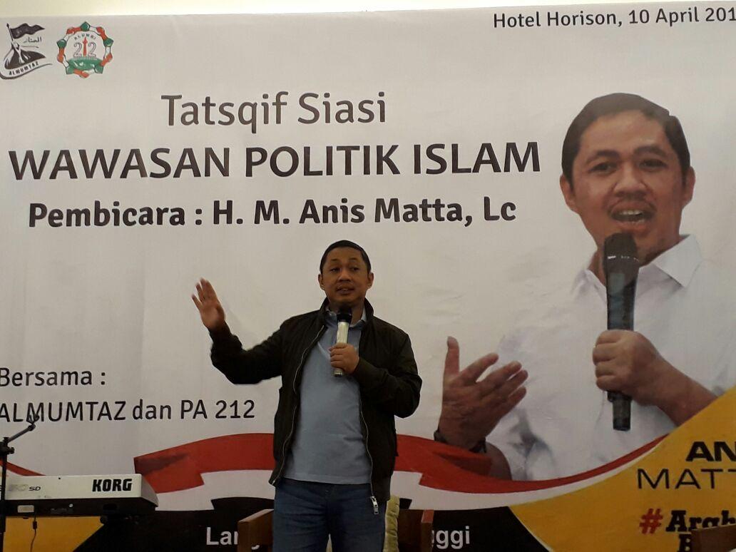 Bincang Politik Anis Matta Bersama Aktivis Islam Tasikmalaya