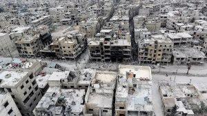 128.000 Warga Douma Terperangkap Pasukan Rezim Syiah Assad