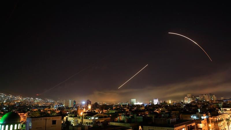 Amerika, Inggris dan Perancis Lancarkan Serangan Udara ke Suriah Hari Ini