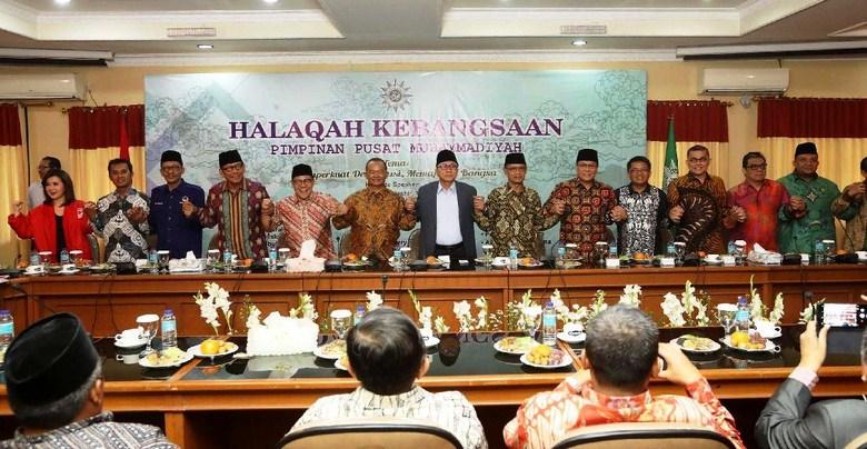 Hadiri Halaqah Kebangsaan, Para Tokoh Parpol Apresiasi Muhammadiyah