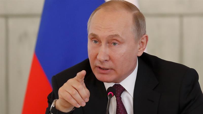 Rusia Tidak akan Tunda Reaksi dari Aksi Amerika