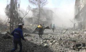 Warga Ghouta Terus Melarikan Diri dari Rumahnya Menuju Basis-basis Mujahidin