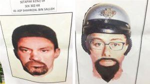 Polisi Malaysia Rilis Sketsa Wajah Pembunuh Ilmuan Palestina