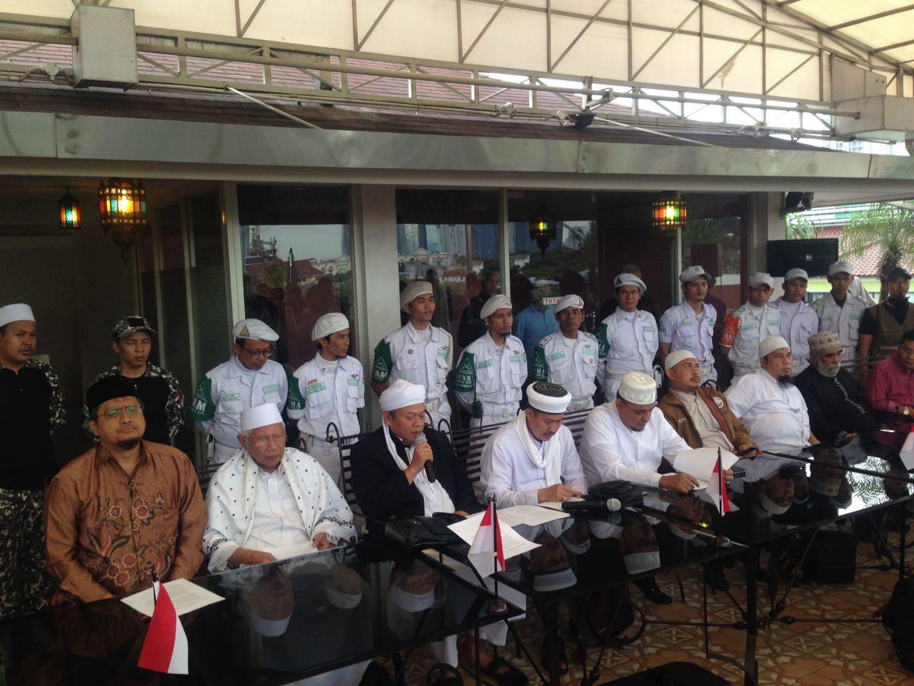 Ini yang Disampaikan Persaudaraan Alumni 212 kepada Presiden di Istana Bogor