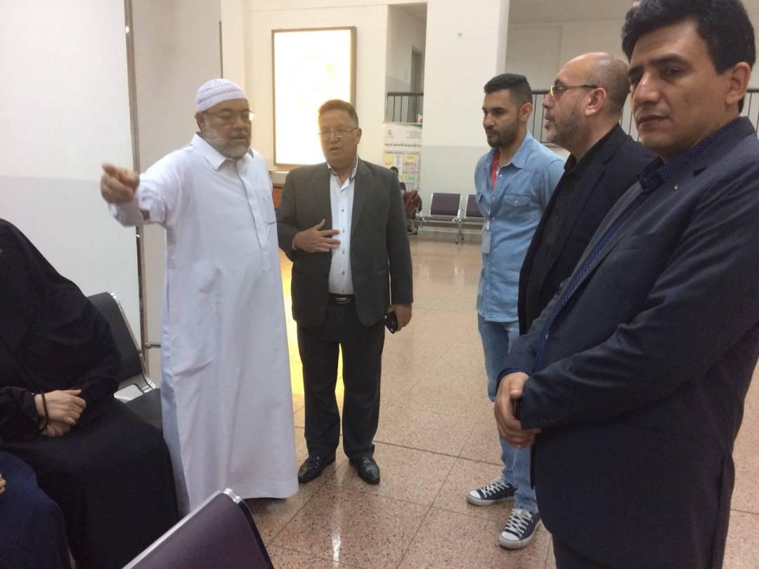 Transit di Jeddah, Keluarga DR Fadi Disambut Dubes Palestina